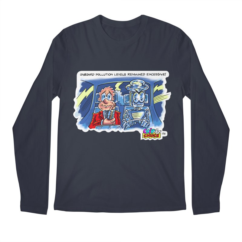 Chip & Chuck pollute Men's Longsleeve T-Shirt by thethinkforward's Artist Shop