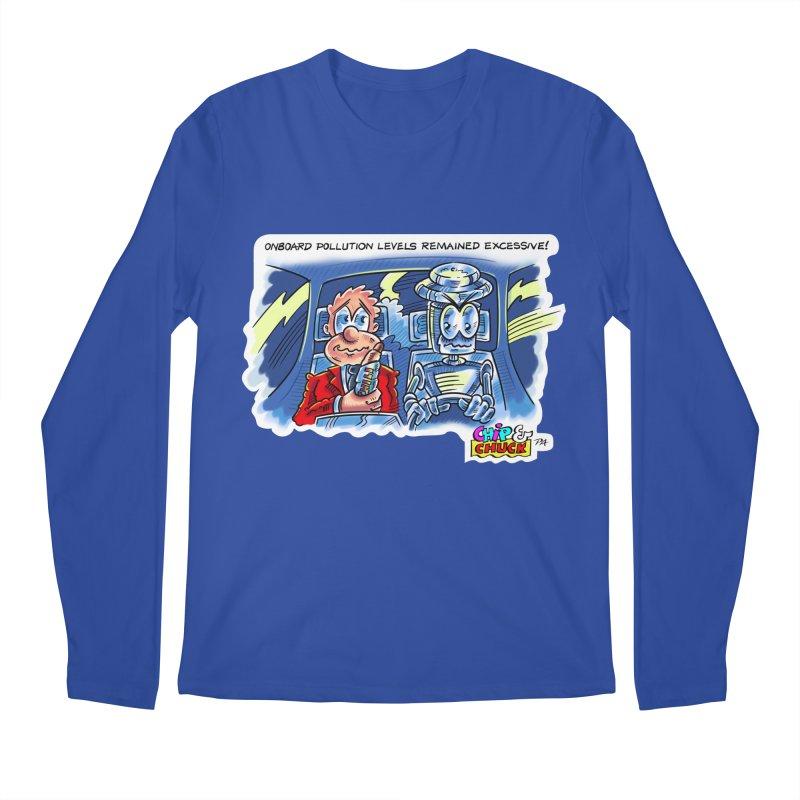 Chip & Chuck pollute Men's Regular Longsleeve T-Shirt by thethinkforward's Artist Shop