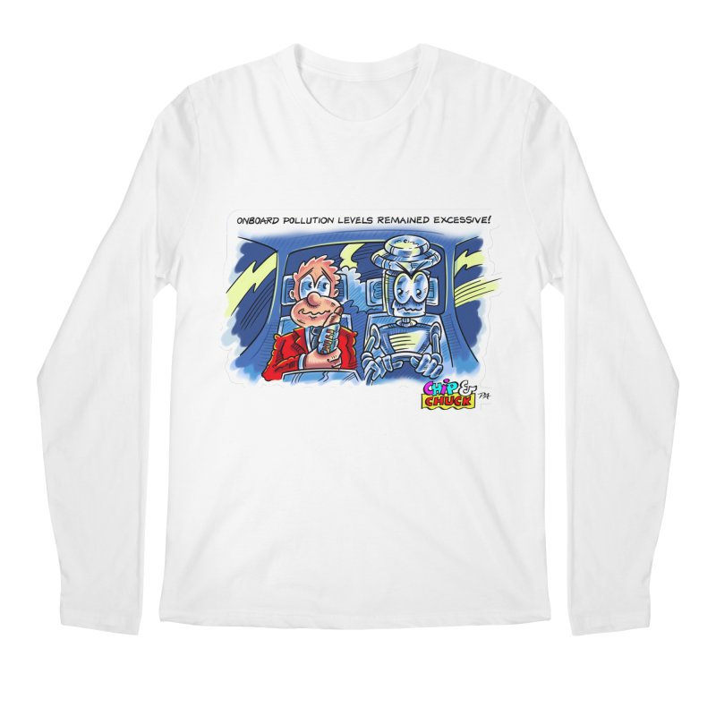 Chip & Chuck pollute Men's Regular Longsleeve T-Shirt by thethinkforward's Artist Shop