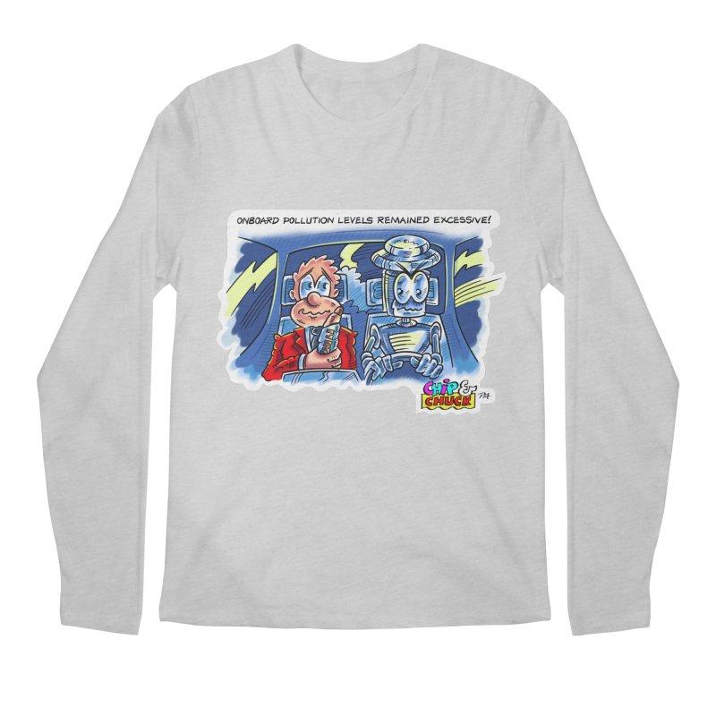 Chip & Chuck pollute Men's Longsleeve T-Shirt by thethinkforward's Artist Shop