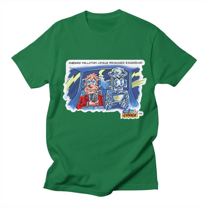 Chip & Chuck pollute Men's Regular T-Shirt by thethinkforward's Artist Shop