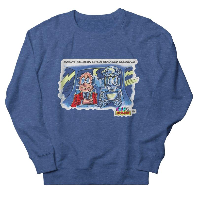 Chip & Chuck pollute Men's Sweatshirt by thethinkforward's Artist Shop