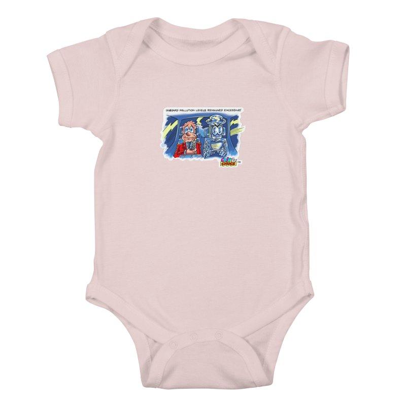Chip & Chuck pollute Kids Baby Bodysuit by thethinkforward's Artist Shop