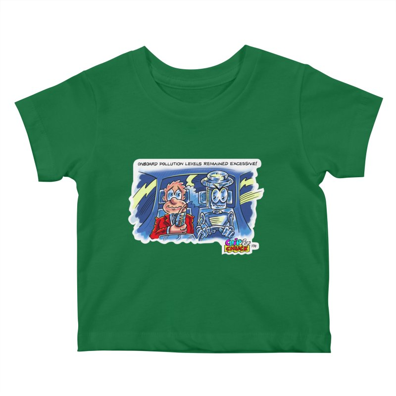 Chip & Chuck pollute Kids Baby T-Shirt by thethinkforward's Artist Shop