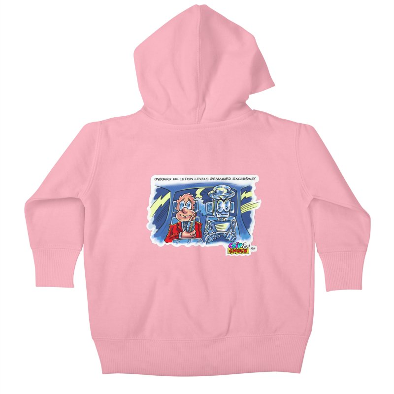 Chip & Chuck pollute Kids Baby Zip-Up Hoody by thethinkforward's Artist Shop