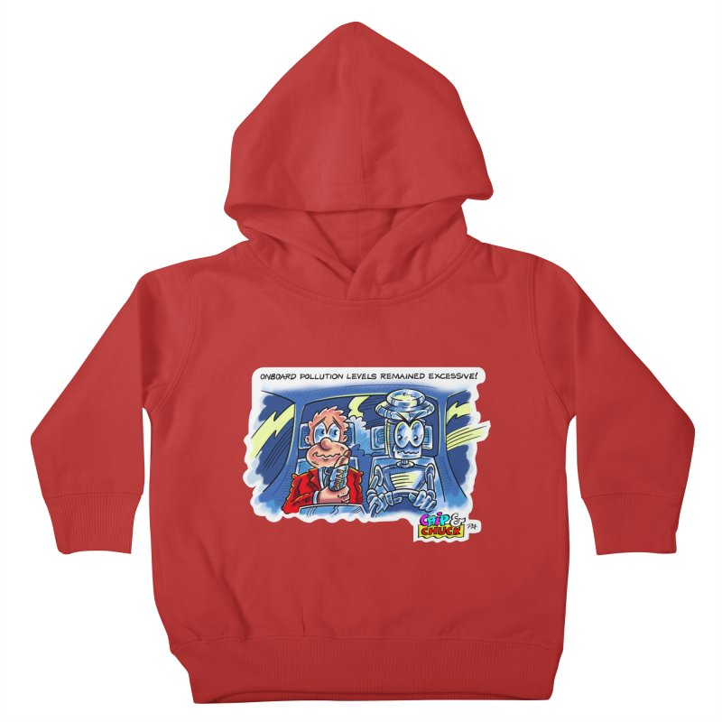 Chip & Chuck pollute Kids Toddler Pullover Hoody by thethinkforward's Artist Shop