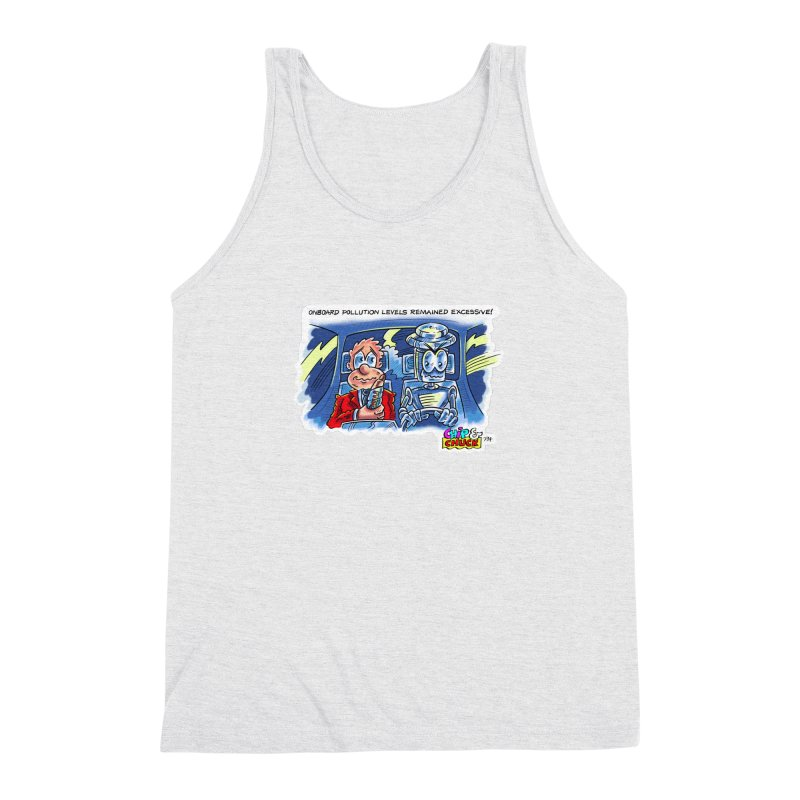 Chip & Chuck pollute Men's Triblend Tank by thethinkforward's Artist Shop