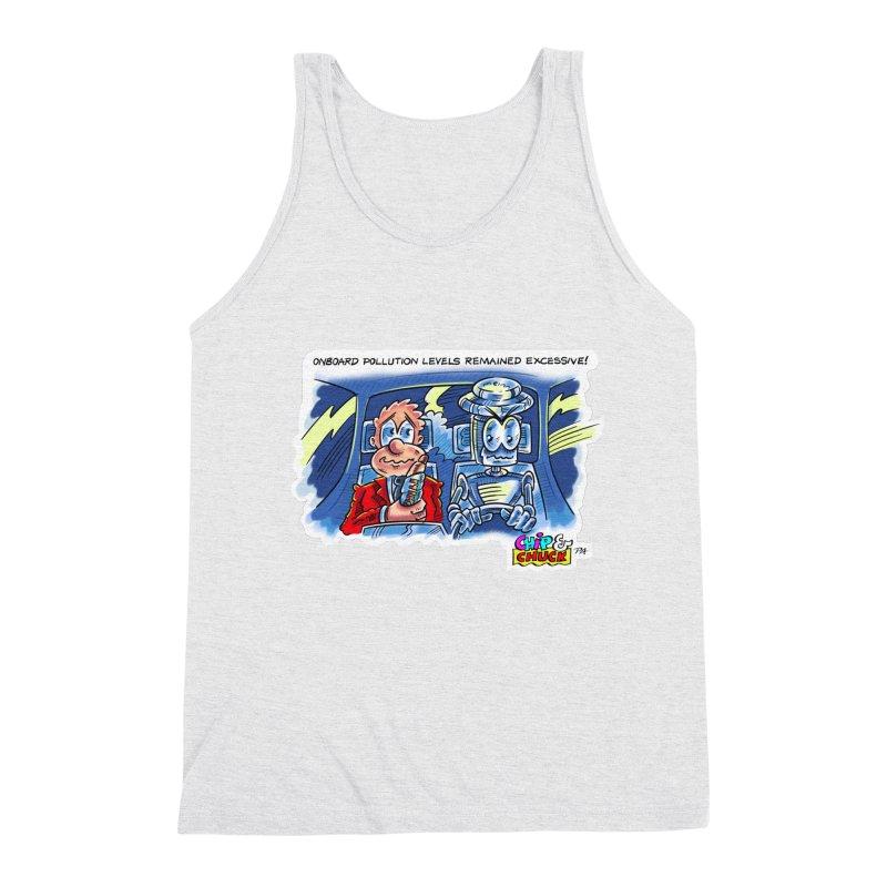 Chip & Chuck pollute Men's Triblend Tank by thethinkforward's Artist Shop