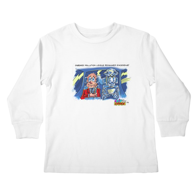 Chip & Chuck pollute Kids Longsleeve T-Shirt by thethinkforward's Artist Shop
