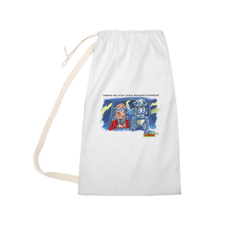 Chip & Chuck pollute Accessories Laundry Bag Bag by thethinkforward's Artist Shop