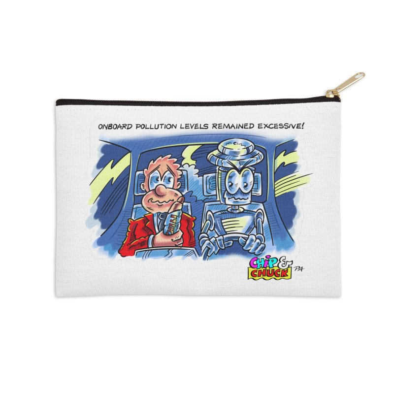 Chip & Chuck pollute Accessories Zip Pouch by thethinkforward's Artist Shop