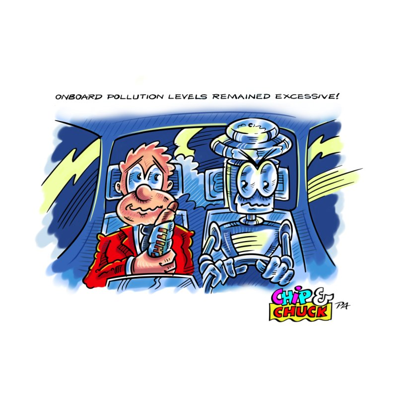 Chip & Chuck pollute by thethinkforward's Artist Shop