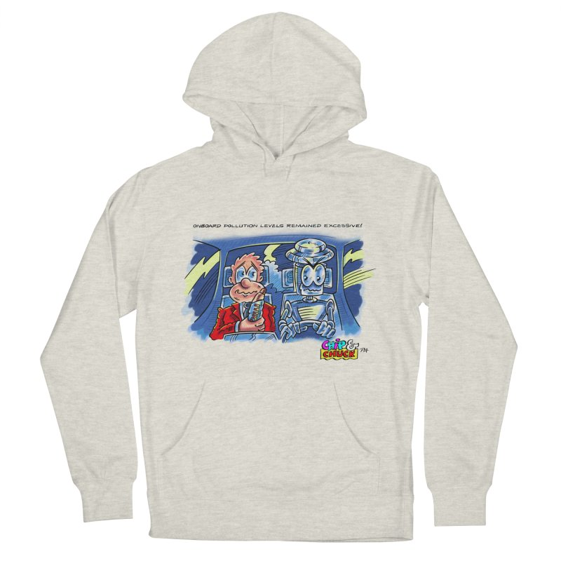 Chip & Chuck pollute Women's Pullover Hoody by thethinkforward's Artist Shop
