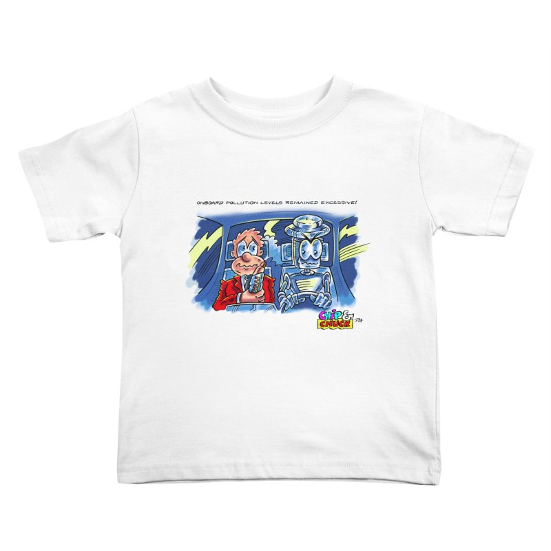 Chip & Chuck pollute Kids Toddler T-Shirt by thethinkforward's Artist Shop