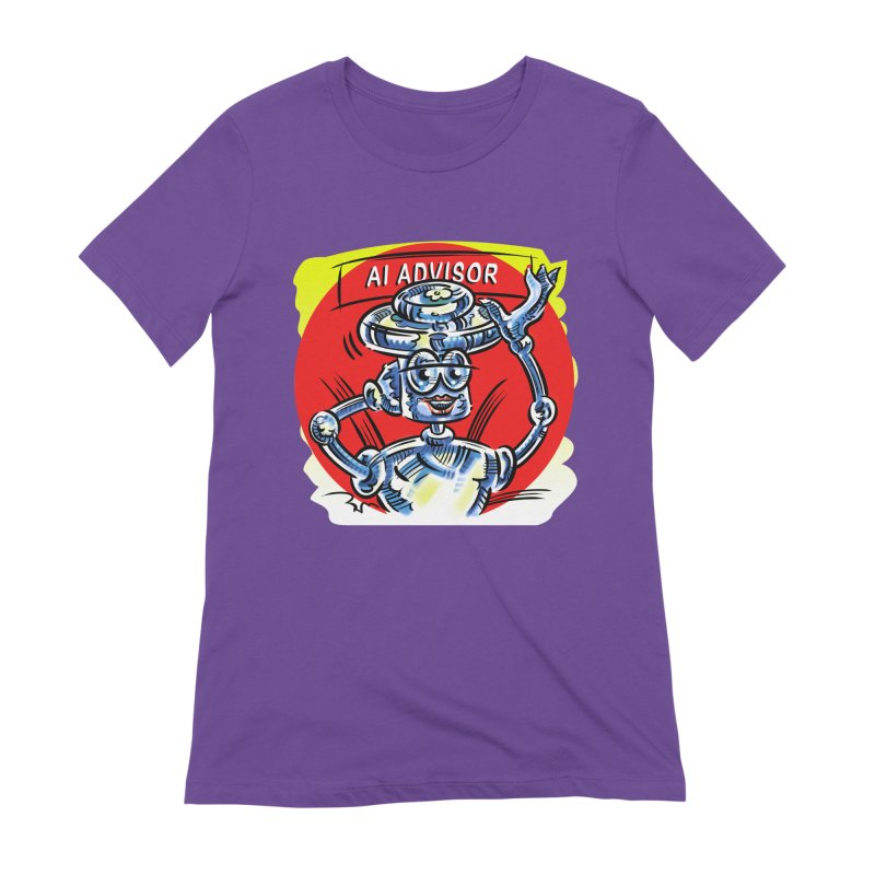 AI Advisor Women's Extra Soft T-Shirt by thethinkforward's Artist Shop