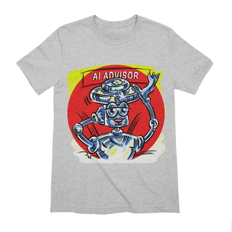 AI Advisor Men's Extra Soft T-Shirt by thethinkforward's Artist Shop