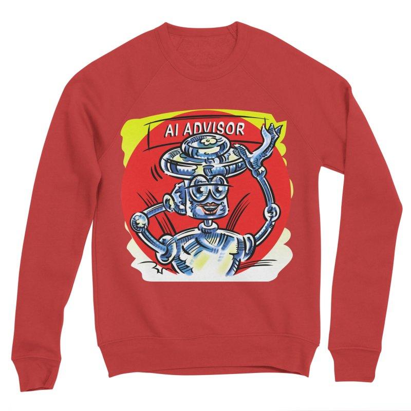AI Advisor Men's Sponge Fleece Sweatshirt by thethinkforward's Artist Shop