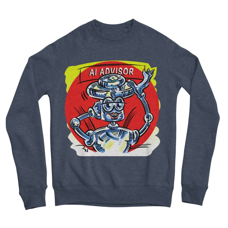 AI Advisor Men's Sponge Fleece Sweatshirt by thethinkforward's Artist Shop