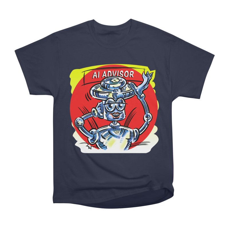 AI Advisor Men's Heavyweight T-Shirt by thethinkforward's Artist Shop