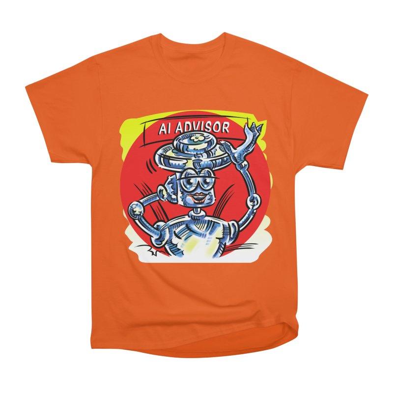 AI Advisor Women's Heavyweight Unisex T-Shirt by thethinkforward's Artist Shop
