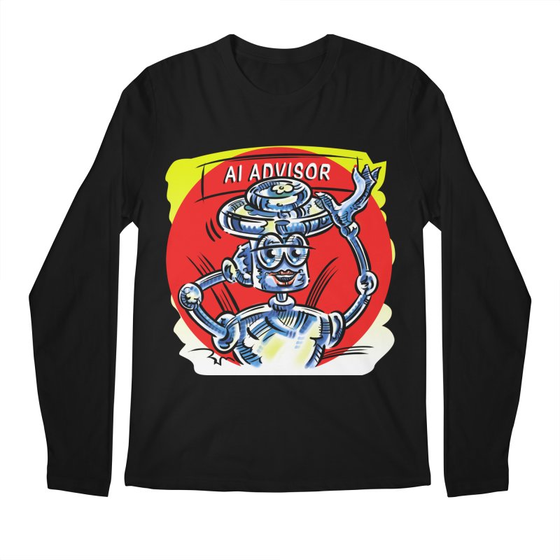 AI Advisor Men's Regular Longsleeve T-Shirt by thethinkforward's Artist Shop