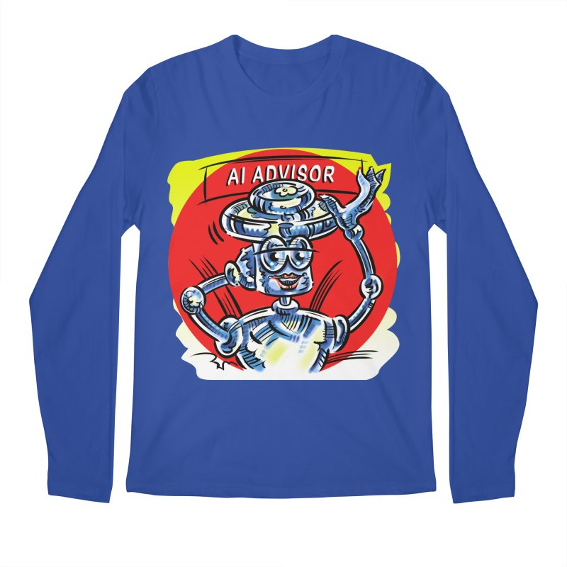 AI Advisor Men's Regular Longsleeve T-Shirt by thethinkforward's Artist Shop