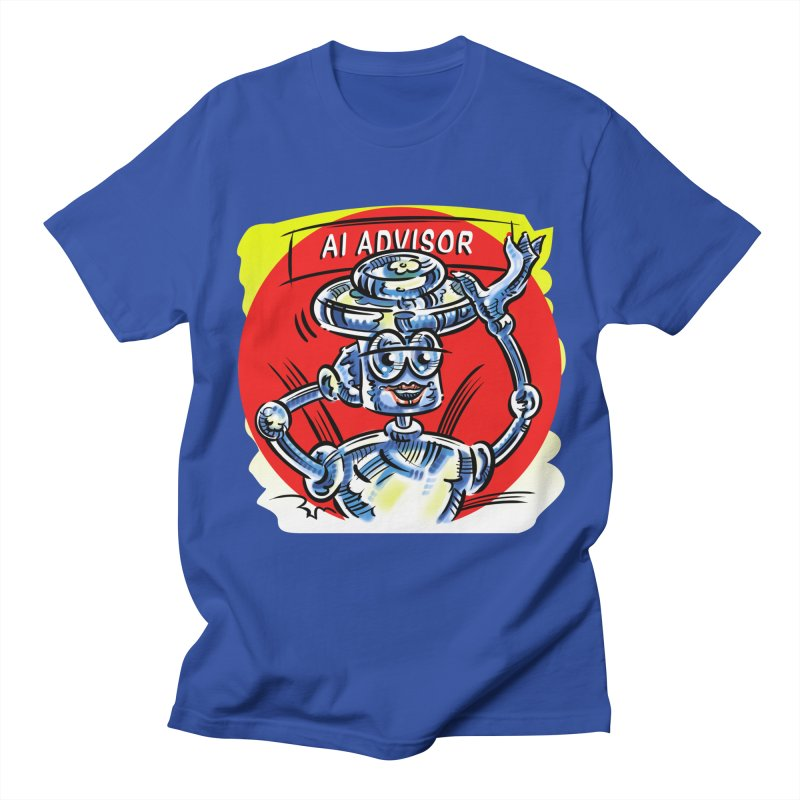 AI Advisor Men's Regular T-Shirt by thethinkforward's Artist Shop