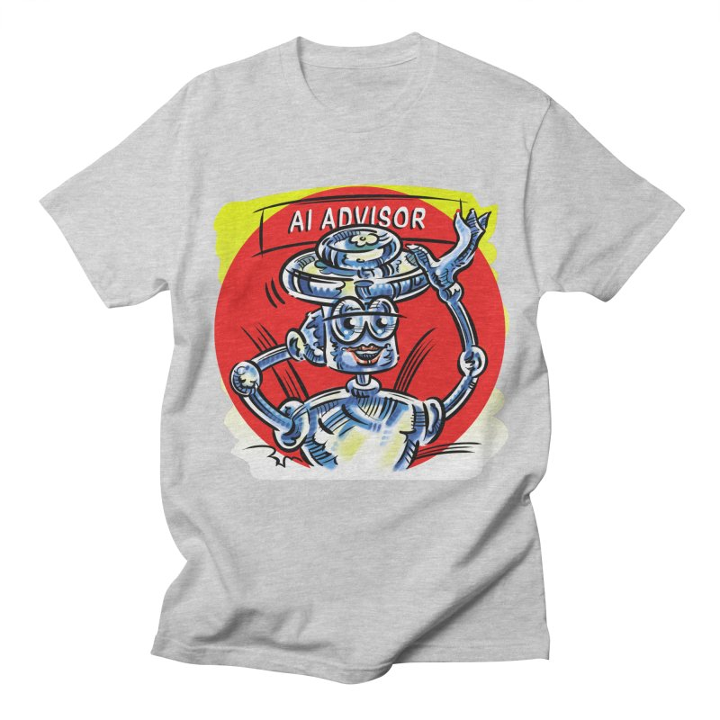 AI Advisor Women's Regular Unisex T-Shirt by thethinkforward's Artist Shop