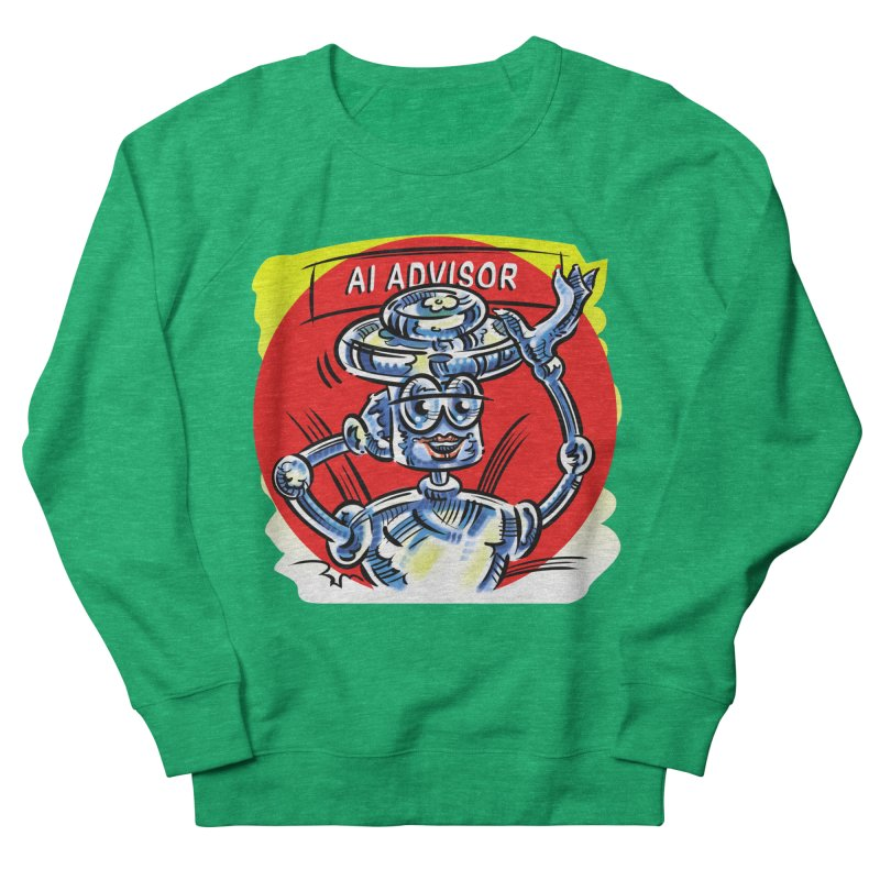 AI Advisor Women's Sweatshirt by thethinkforward's Artist Shop