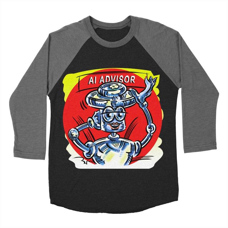 AI Advisor Women's Baseball Triblend Longsleeve T-Shirt by thethinkforward's Artist Shop