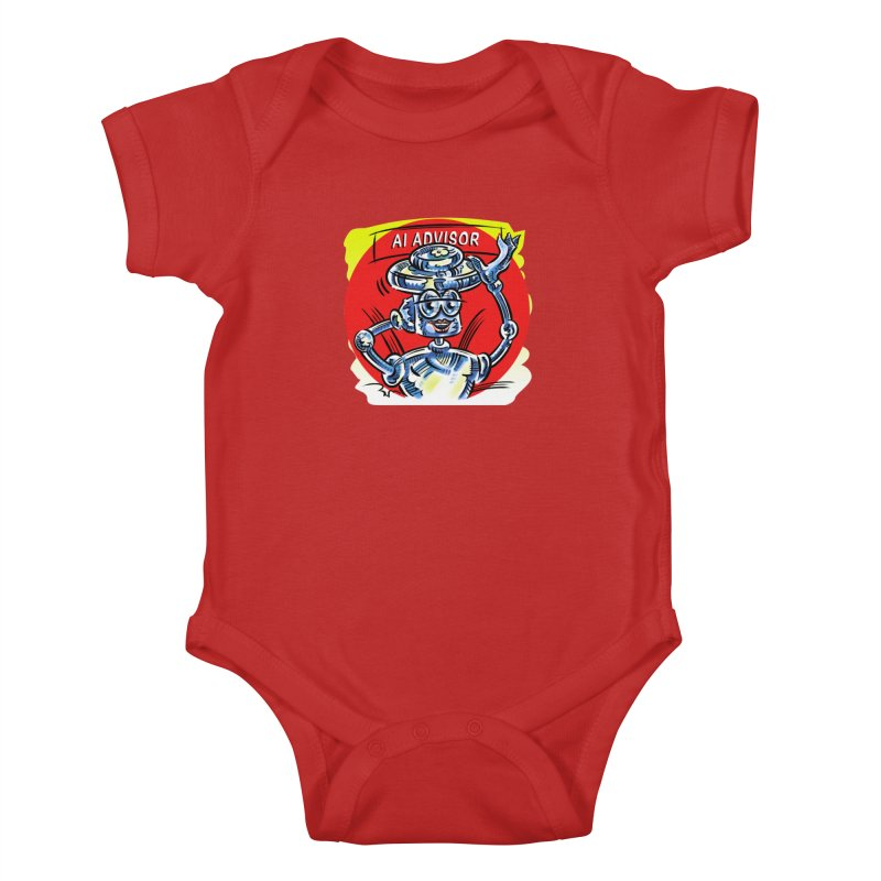 AI Advisor Kids Baby Bodysuit by thethinkforward's Artist Shop