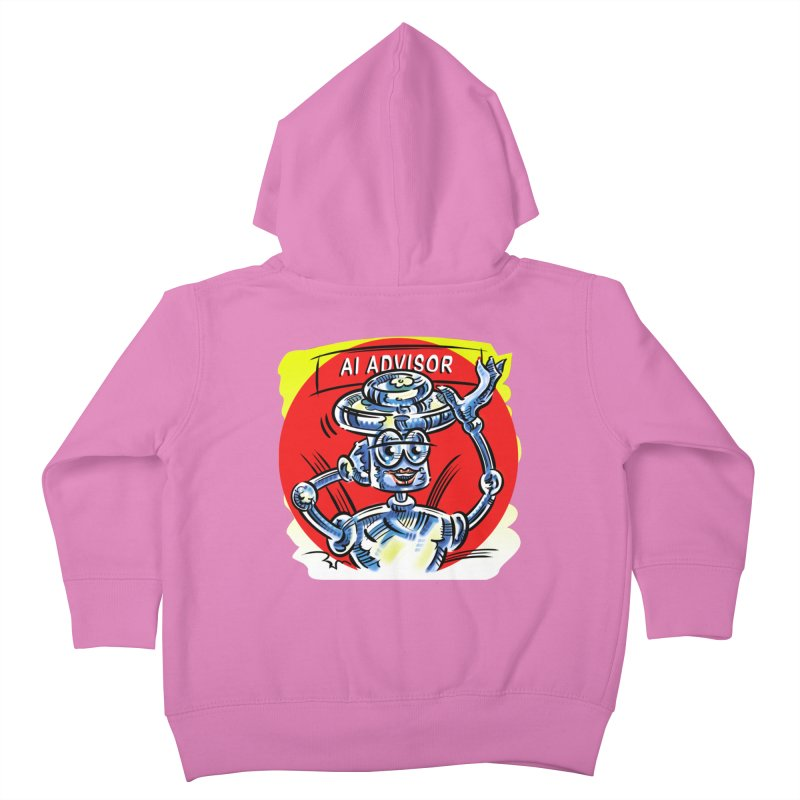 AI Advisor Kids Toddler Zip-Up Hoody by thethinkforward's Artist Shop