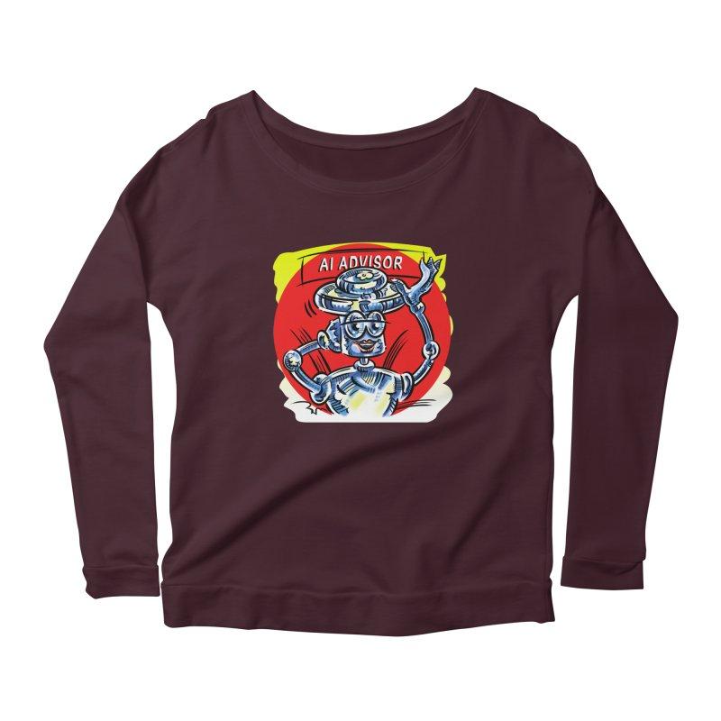 AI Advisor Women's Longsleeve T-Shirt by thethinkforward's Artist Shop