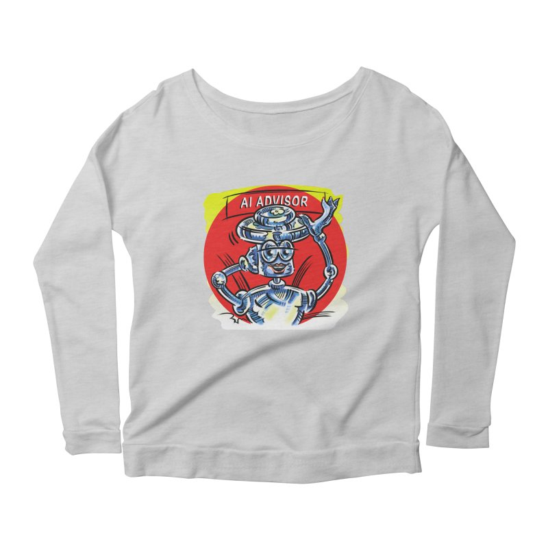 AI Advisor Women's Scoop Neck Longsleeve T-Shirt by thethinkforward's Artist Shop