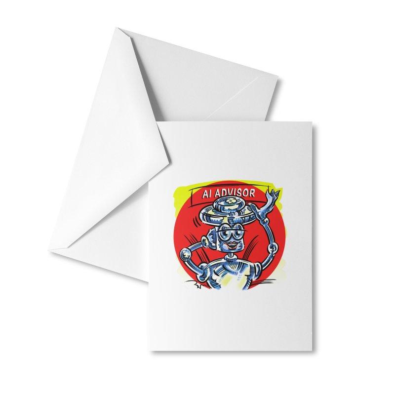 AI Advisor Accessories Greeting Card by thethinkforward's Artist Shop