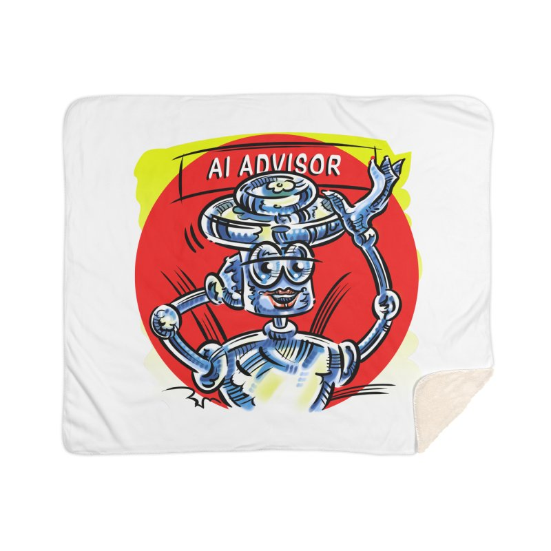 AI Advisor Home Blanket by thethinkforward's Artist Shop