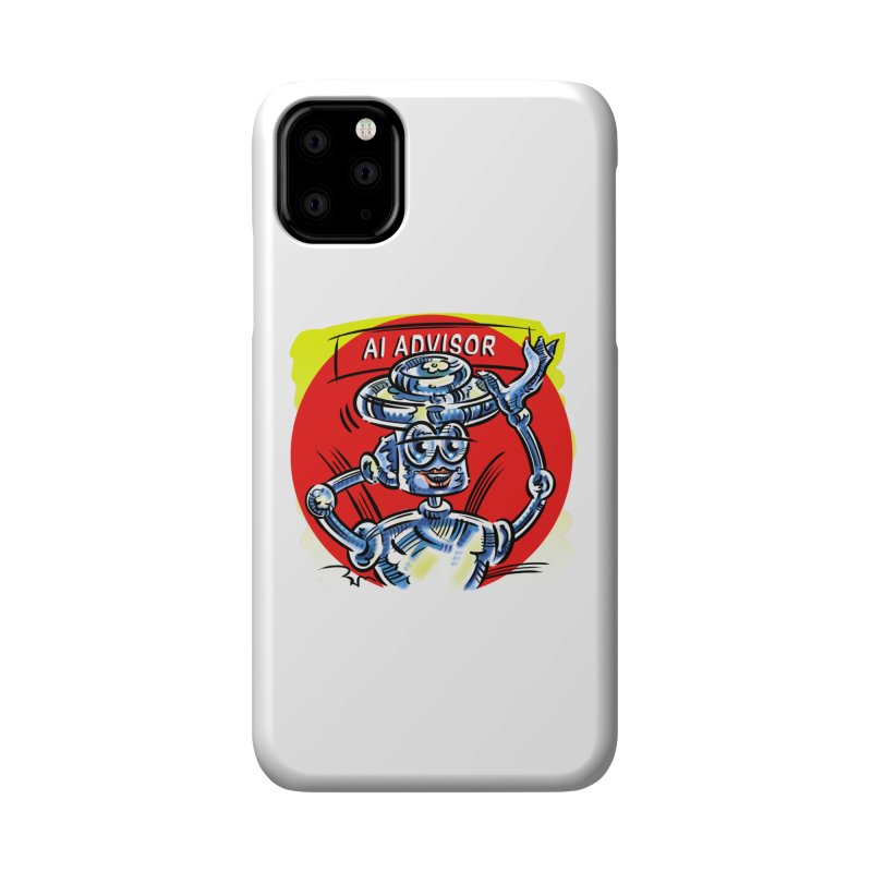 AI Advisor Accessories Phone Case by thethinkforward's Artist Shop