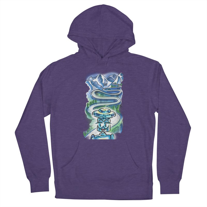 CHIP to the Mountain Women's Pullover Hoody by thethinkforward's Artist Shop