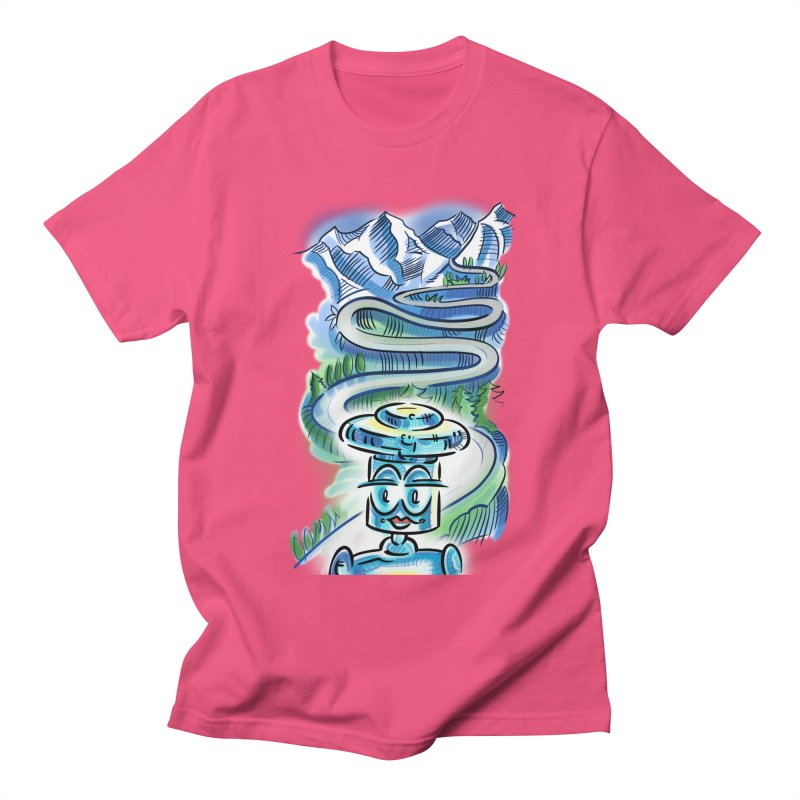 CHIP to the Mountain Women's Regular Unisex T-Shirt by thethinkforward's Artist Shop