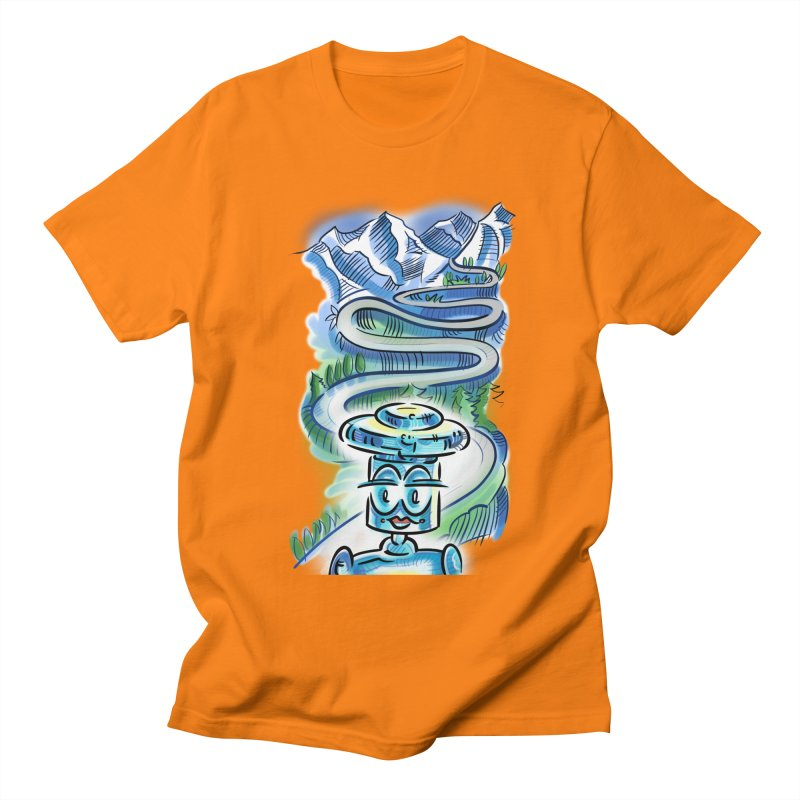 CHIP to the Mountain Men's Regular T-Shirt by thethinkforward's Artist Shop