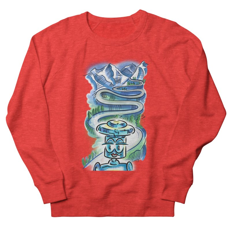 CHIP to the Mountain Men's Sweatshirt by thethinkforward's Artist Shop