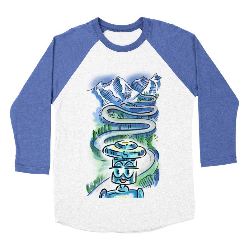 CHIP to the Mountain Men's Baseball Triblend Longsleeve T-Shirt by thethinkforward's Artist Shop