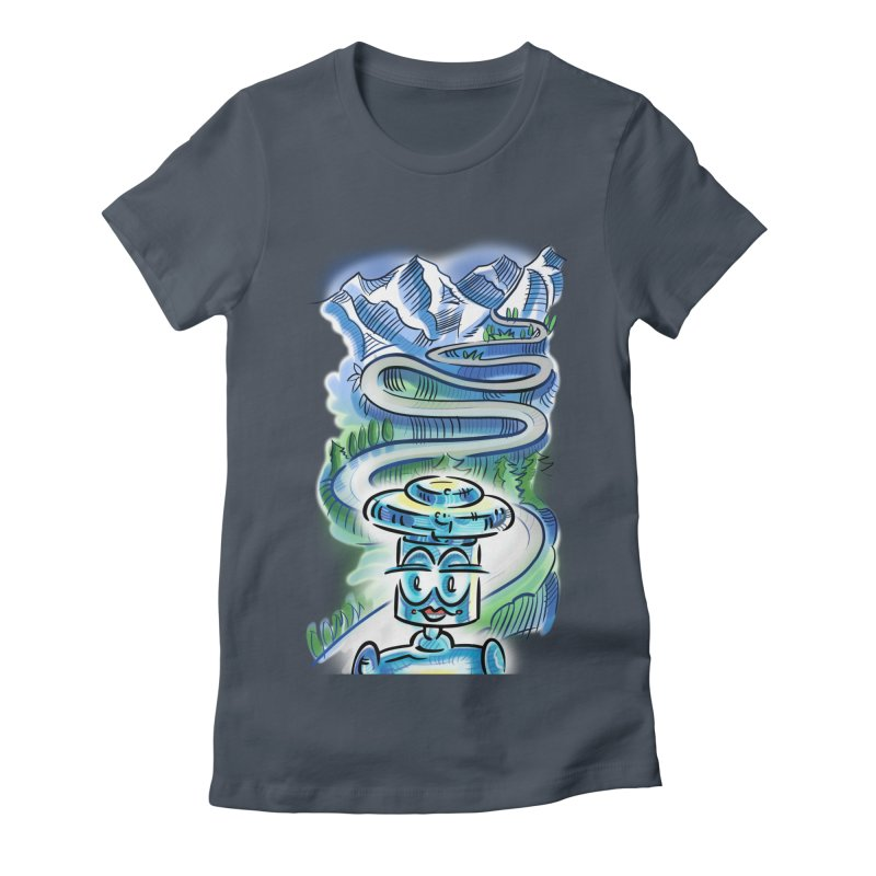 CHIP to the Mountain Women's T-Shirt by thethinkforward's Artist Shop