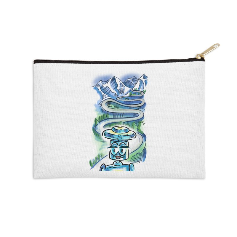 CHIP to the Mountain Accessories Zip Pouch by thethinkforward's Artist Shop