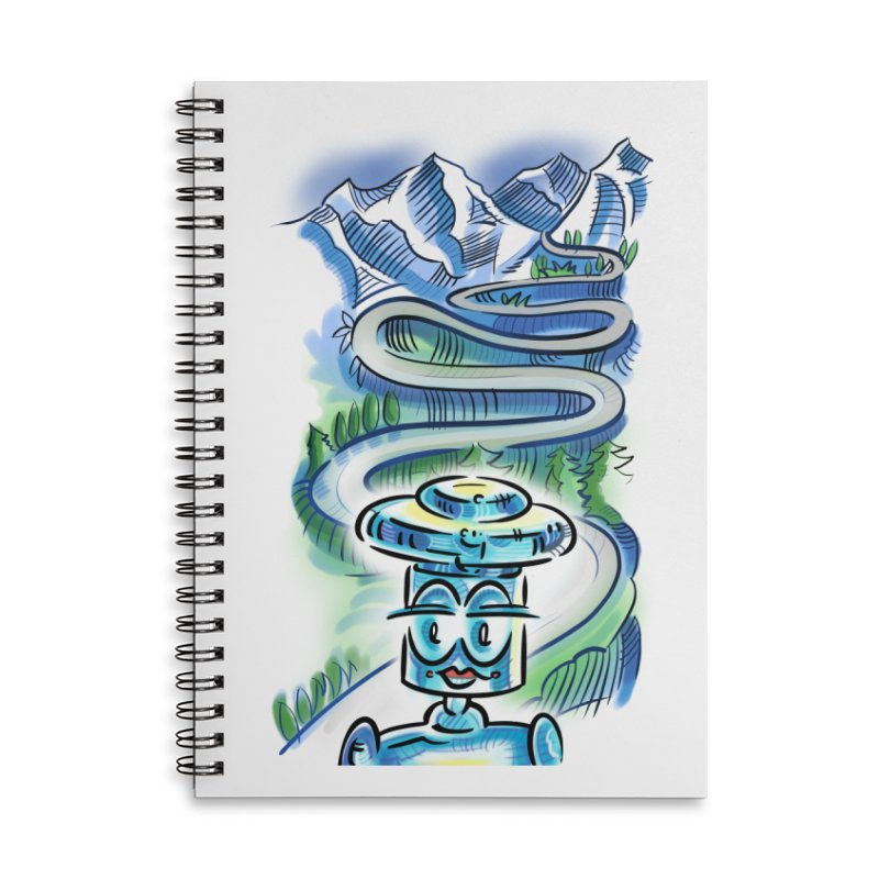 CHIP to the Mountain Accessories Notebook by thethinkforward's Artist Shop