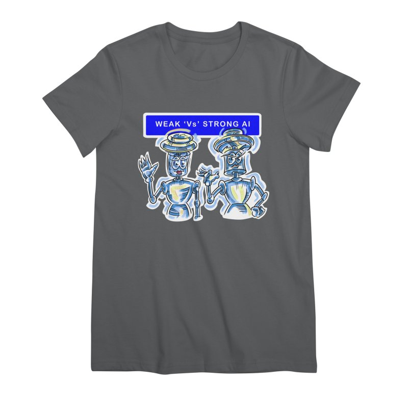 Chip and Chuck Strong AI Women's Premium T-Shirt by thethinkforward's Artist Shop