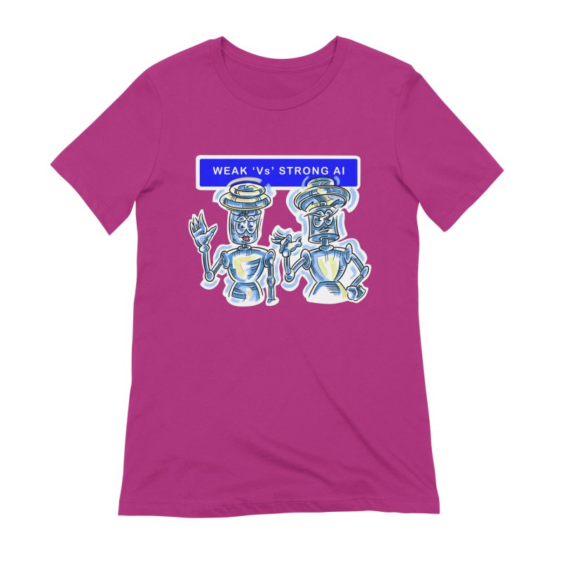 Chip and Chuck Strong AI Women's Extra Soft T-Shirt by thethinkforward's Artist Shop