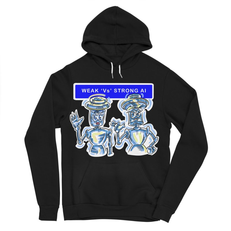 Chip and Chuck Strong AI Women's Sponge Fleece Pullover Hoody by thethinkforward's Artist Shop