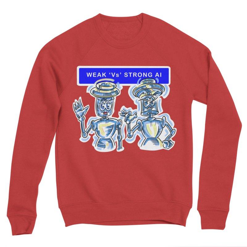 Chip and Chuck Strong AI Women's Sponge Fleece Sweatshirt by thethinkforward's Artist Shop