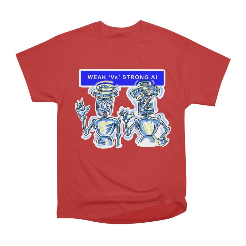 Chip and Chuck Strong AI Women's Heavyweight Unisex T-Shirt by thethinkforward's Artist Shop